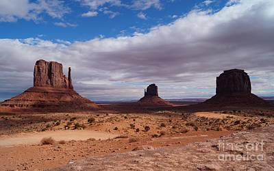 Western Photograph - Monument Valley National Park by Timea Mazug