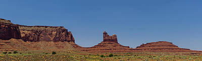 Photograph - Monument Valley North View by Shelly Gunderson