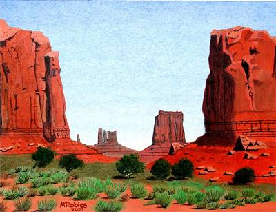 Monument Valley North Window Art Print