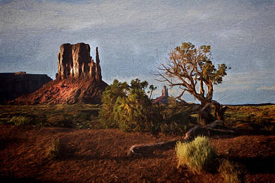 Photograph - Monument Valley Painting by Jonas Wingfield