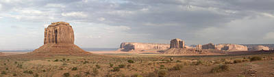Photograph - Monument Valley Panorama by Mike Irwin
