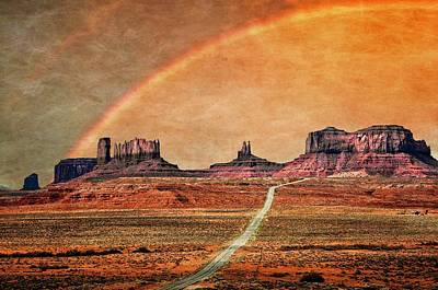Photograph - Monument Valley Rainbow II by Flying Z Photography by Zayne Diamond