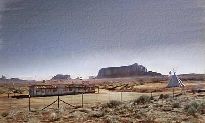 Monument Valley - Reservation Art Print by Steve Ohlsen