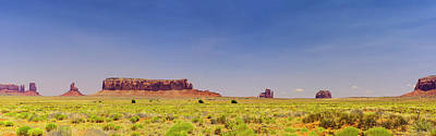 Photograph - Monument Valley South View by Shelly Gunderson