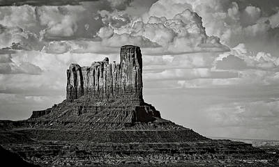 Photograph - Monument Valley - Stagecoach Butte  by Saija Lehtonen