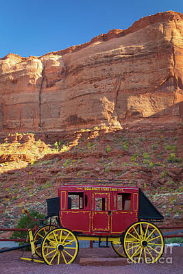 Photograph - Monument Valley Stagecoach by Inge Johnsson