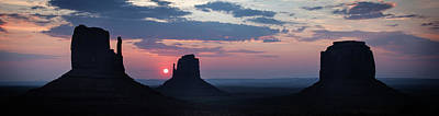 Photograph - Monument Valley Sunrise by Bud Simpson