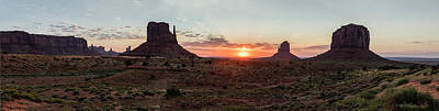 Photograph - Monument Valley Sunrise  by John McGraw
