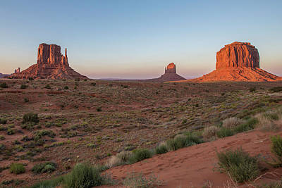 Photograph - Monument Valley Sunset 2 by John McGraw