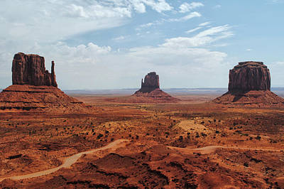 Photograph - Monument Valley - The Mittens by Tricia Marchlik