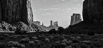 Photograph - Monument Valley The Window  by John McGraw