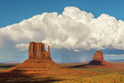 Photograph - Monument Valley Thunderstorm by Loree Johnson