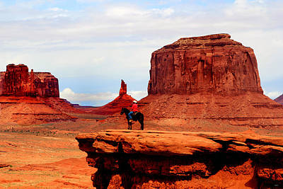 Photograph - Monument Valley by Tom Prendergast