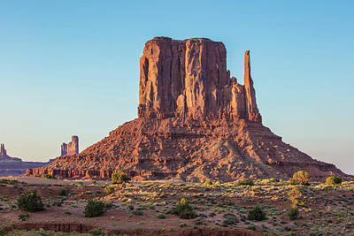 Photograph - Monument Valley Tower 2 by John McGraw