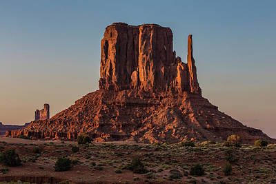 Photograph - Monument Valley  Tower 3 by John McGraw