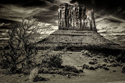 Photograph - Monument Valley Views No. 12 by Roger Passman