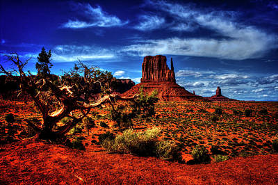 Photograph - Monument Valley Views No. 2 by Roger Passman