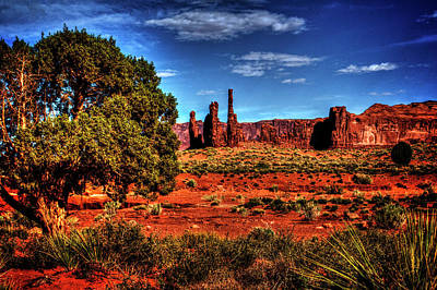 Photograph - Monument Valley Views No. 3 by Roger Passman
