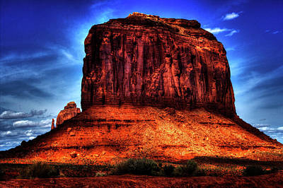 Photograph - Monument Valley Views No. 4 by Roger Passman
