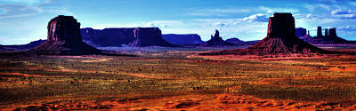 Photograph - Monument Valley Views No. 5 by Roger Passman