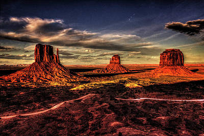Photograph - Monument Valley Views No. 6 by Roger Passman