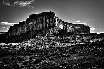 Photograph - Monument Valley Views No. 7 by Roger Passman