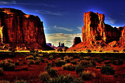 Photograph - Monument Valley Views No. 8 by Roger Passman