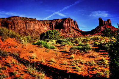 Photograph - Monument Valley Views No. 9 by Roger Passman