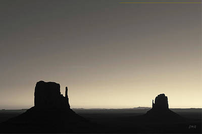 Photograph - Monument Valley Viii Toned by David Gordon