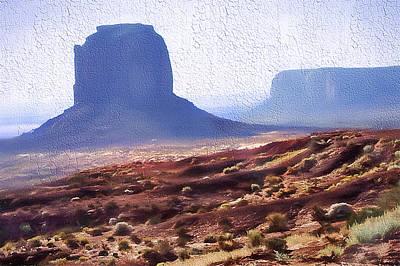 Monument Valley Vista 4 Art Print by Steve Ohlsen