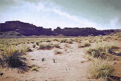 Monument Valley Vista 5 Art Print by Steve Ohlsen
