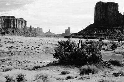 Photograph - Monument Valley Water Hole by Scott Kingery