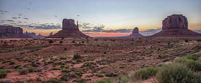 Photograph - Monument Vally Sunrise 1 by John McGraw