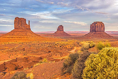 Bush Photograph - Monumental Afternoon by Duane Miller