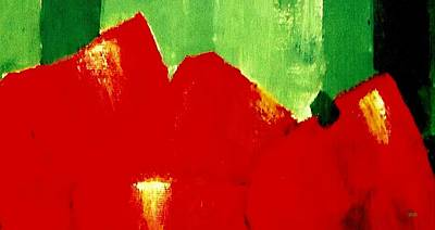 Painting - Monumental Capsicum by VIVA Anderson