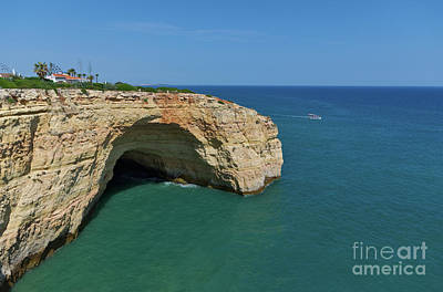 Photograph - Monumental Cliff Formation In Lagoa by Angelo DeVal