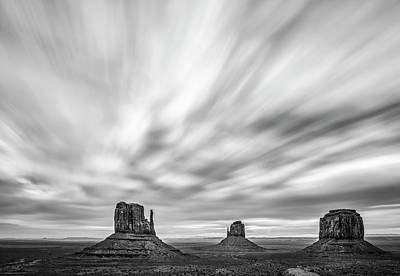 Photograph - Monumental Clouds by Jon Glaser