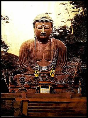 Valentines Day - Monumental Japanese Zen Buddha by Peter Ogden Gallery