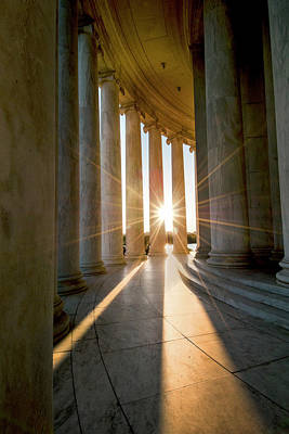 Photograph - Monumental Light by Greg Fortier