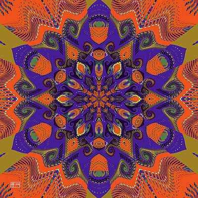 Digital Art - Monumental Orange Thing by Jim Pavelle