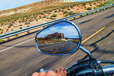 Harley Photograph - Monumental Reflection by Jesse McKay