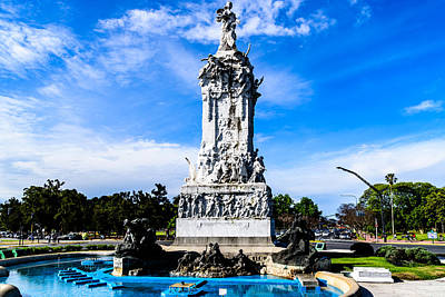 Claude Monet - Monumento a Espana by Randy Scherkenbach