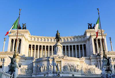 Monumento A Vittorio Emanuele II Art Print