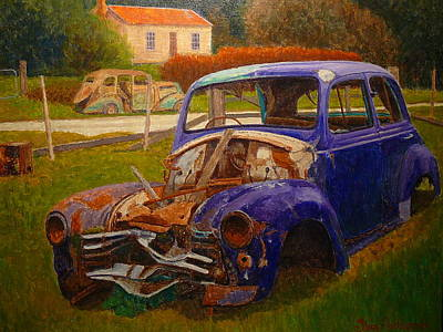 Painting - Monuments To Former Times. by Terry Perham