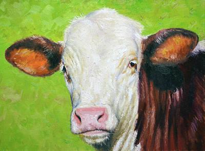 Painting - Moo by Armand Cabrera
