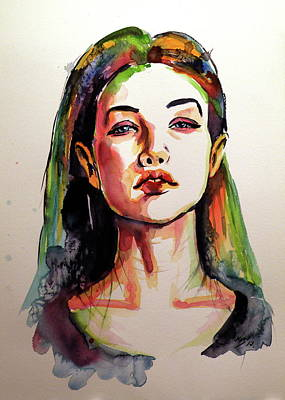 Painting - Mood by Kovacs Anna Brigitta