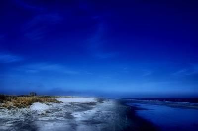 Photograph - Mood Of A Beach Evening - Jersey Shore by Angie Tirado