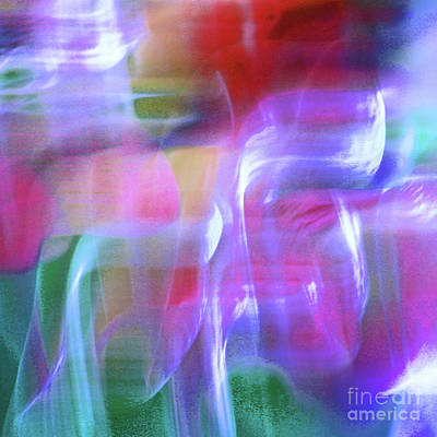 Photograph - Moods Abstract Square by Karen Adams