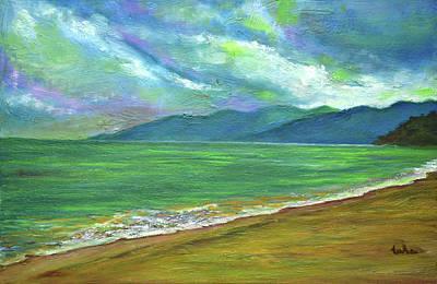Painting - Moods Of Tioman 4 by Usha Shantharam