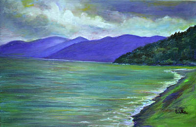 Painting - Moods Of Tioman 5 by Usha Shantharam